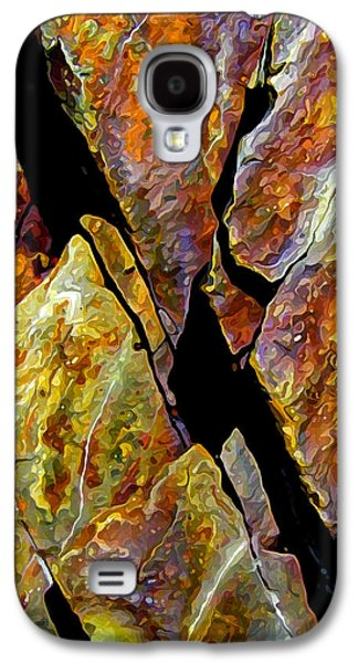 Abstract Digital Art Galaxy S4 Cases - Rock Art 17 Galaxy S4 Case by Bill Caldwell -        ABeautifulSky Photography