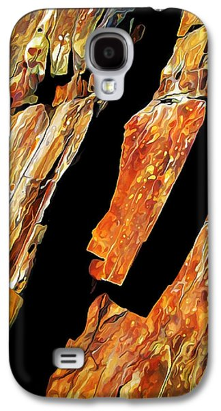 Abstract Nature Galaxy S4 Cases - Rock Art 21 Galaxy S4 Case by Bill Caldwell -        ABeautifulSky Photography
