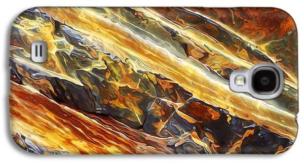 Photo Manipulation Galaxy S4 Cases - Rock Art 26 Galaxy S4 Case by Bill Caldwell -        ABeautifulSky Photography