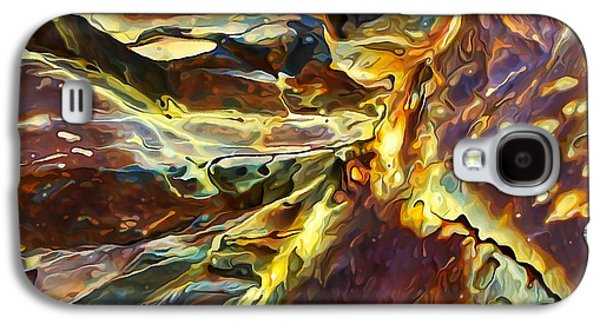 Nature Abstract Galaxy S4 Cases - Rock Art 27 Galaxy S4 Case by Bill Caldwell -        ABeautifulSky Photography