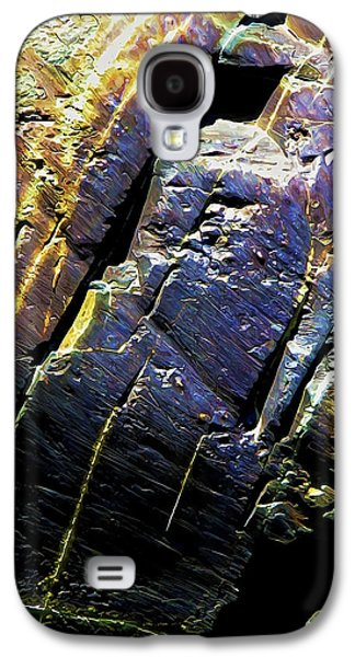 Photo Manipulation Photographs Galaxy S4 Cases - Rock Art 9 Galaxy S4 Case by Bill Caldwell -        ABeautifulSky Photography