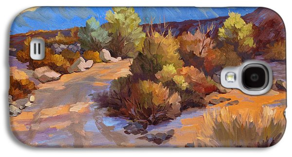 Country Scenes Galaxy S4 Cases - Rock Cairn at La Quinta Cove Galaxy S4 Case by Diane McClary