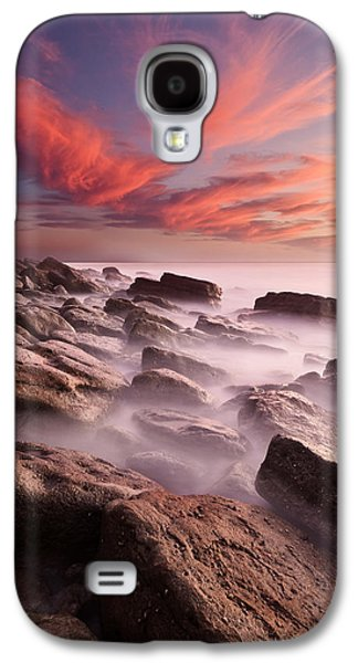 Waterscape Galaxy S4 Cases - Rock caos Galaxy S4 Case by Jorge Maia