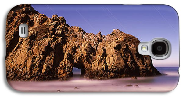 Big Sur California Galaxy S4 Cases - Rock Formation On The Beach, One Hour Galaxy S4 Case by Panoramic Images