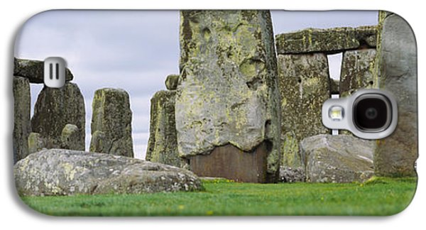 Megalith Galaxy S4 Cases - Rock Formations Of Stonehenge Galaxy S4 Case by Panoramic Images