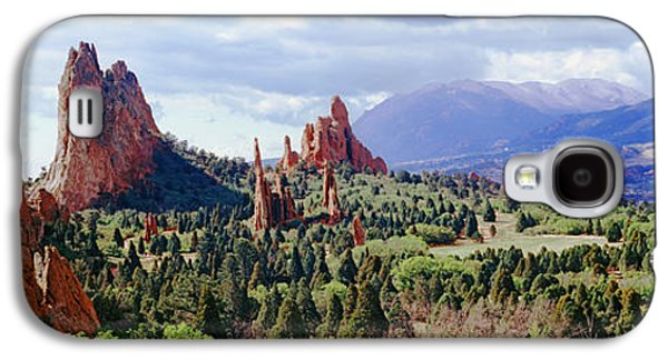 Rock Formations On A Landscape, Garden Galaxy S4 Case by Panoramic Images