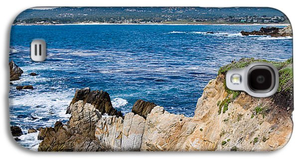 Point Lobos State Galaxy S4 Cases - Rock Formations On The Coast, Point Galaxy S4 Case by Panoramic Images