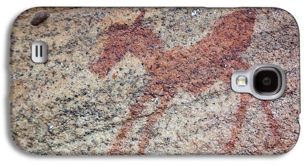 Rock Painting Of Zebra Foal, Sevilla Galaxy S4 Case by Jaynes Gallery