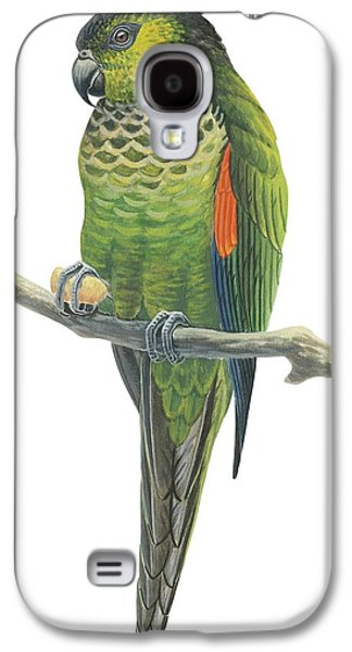 Rock Parakeet Galaxy S4 Case by Anonymous