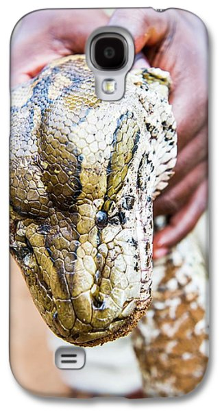 Rock Python Recovered From Poachers Galaxy S4 Case by Peter Chadwick