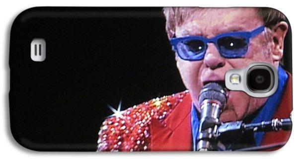 Elton John Photographs Galaxy S4 Cases - Rocket Man Galaxy S4 Case by Aaron Martens