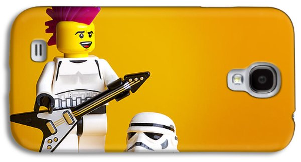 Punk Photographs Galaxy S4 Cases - Rockin Out Galaxy S4 Case by Samuel Whitton