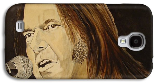 Neil Young Galaxy S4 Cases - Rockin The Free World Forever Galaxy S4 Case by Stuart Engel