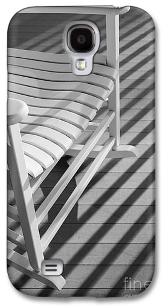 Rocking Chairs Galaxy S4 Cases - Rocking Chair on the Porch Galaxy S4 Case by Diane Diederich