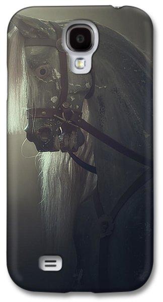 Creepy Galaxy S4 Cases - Rocking Horse Galaxy S4 Case by Joana Kruse