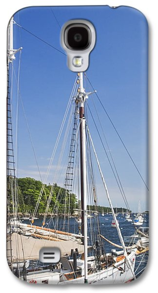 Maine Shore Galaxy S4 Cases - Rockport Maine boats and Harbor Galaxy S4 Case by Keith Webber Jr