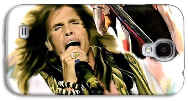 Rocks Gothic Lion II  Steven Tyler Galaxy S4 Case by Iconic Images Art Gallery David Pucciarelli