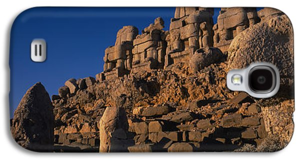 Ancient Galaxy S4 Cases - Rocks On A Cliff, Mount Nemrut, Nemrud Galaxy S4 Case by Panoramic Images