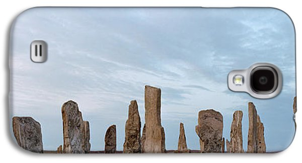 Megalith Galaxy S4 Cases - Rocks On A Landscape, Callanish Galaxy S4 Case by Panoramic Images