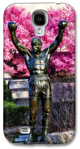 Stallone Digital Galaxy S4 Cases - Rocky Among the Cherry Blossoms Galaxy S4 Case by Bill Cannon