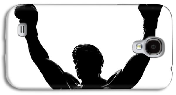 Boxer Galaxy S4 Cases - Rocky Galaxy S4 Case by Benjamin Yeager