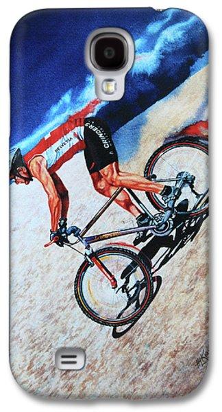 Sports Artist Galaxy S4 Cases - Rocky Mountain High Galaxy S4 Case by Hanne Lore Koehler