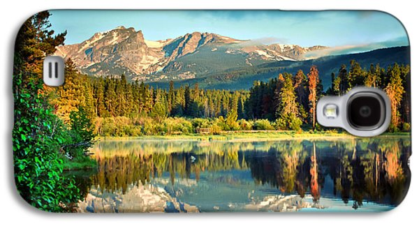 Fort Collins Galaxy S4 Cases - Rocky Mountain Morning Galaxy S4 Case by Gregory Ballos