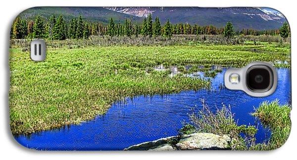 Colorado Galaxy S4 Cases - Rocky Mountains River Galaxy S4 Case by Olivier Le Queinec