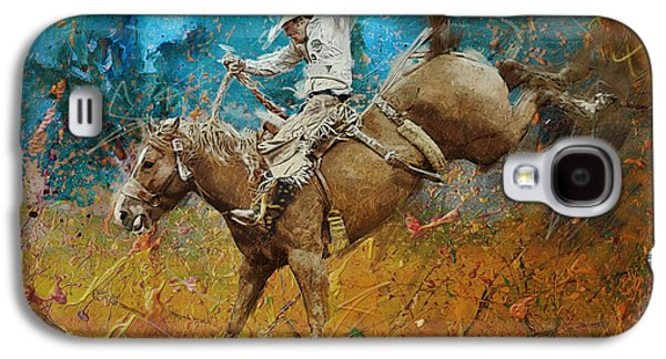 Rodeo 001 Galaxy S4 Case by Corporate Art Task Force
