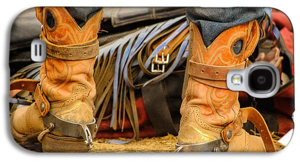 Behind The Scene Photographs Galaxy S4 Cases - Rodeo Cowboy Tools of the Trade Galaxy S4 Case by Miki  Finn