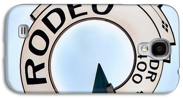 United Photographs Galaxy S4 Cases - Rodeo Drive sign Circagraph Galaxy S4 Case by Az Jackson