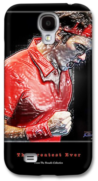 Roger Federer Galaxy S4 Cases - Roger Federer  The Greatest Ever Galaxy S4 Case by Joe Paradis