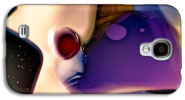 Bright Colors Glass Art Galaxy S4 Cases - Roger Galaxy S4 Case by Omaste Witkowski