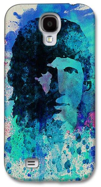 Pink Digital Art Galaxy S4 Cases - Roger Waters Galaxy S4 Case by Naxart Studio