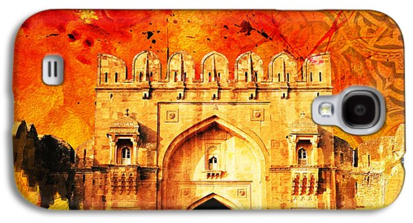 Museum Paintings Galaxy S4 Cases - Rohtas Fort 01 Galaxy S4 Case by Catf