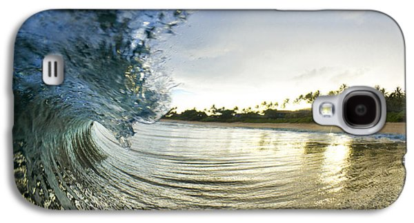 Ocean Art Photography Galaxy S4 Cases - Rolled Gold Galaxy S4 Case by Sean Davey