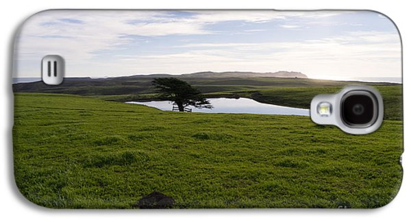 Contemplative Photographs Galaxy S4 Cases - Rolling Landscape Hills of Point Reyes National Seashore California DSC2312 Galaxy S4 Case by Wingsdomain Art and Photography