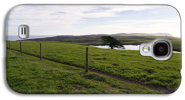 Contemplative Photographs Galaxy S4 Cases - Rolling Landscape Hills of Point Reyes National Seashore California DSC2321 Galaxy S4 Case by Wingsdomain Art and Photography