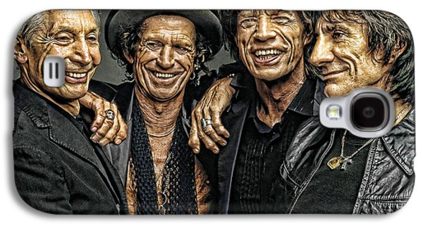 Digital Galaxy S4 Cases - Rolling Stones Galaxy S4 Case by Riccardo Zullian