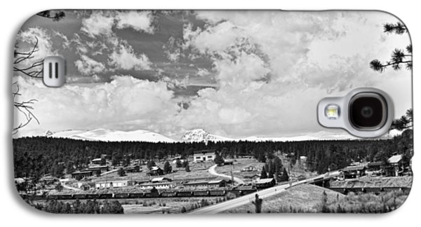 All In The Family Galaxy S4 Cases - Rollinsville Colorado Small Town 181 In Black and White Galaxy S4 Case by James BO  Insogna
