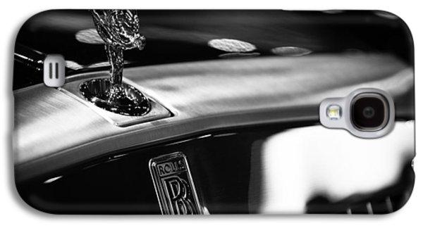 Hood Ornament Photographs Galaxy S4 Cases - Rolls Royce Galaxy S4 Case by Sebastian Musial