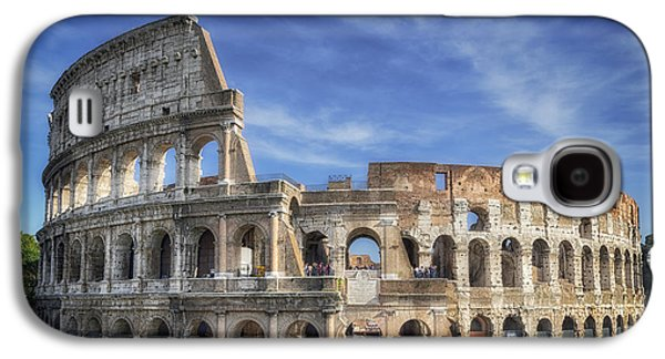 Ancient Galaxy S4 Cases - Roman Icon Galaxy S4 Case by Joan Carroll