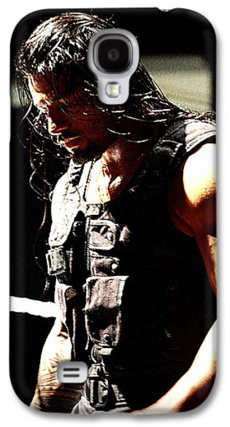 Roman Reigns Galaxy S4 Case by Paul  Wilford