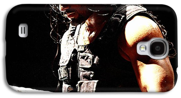Champion Galaxy S4 Cases - Roman Reigns Galaxy S4 Case by Paul  Wilford