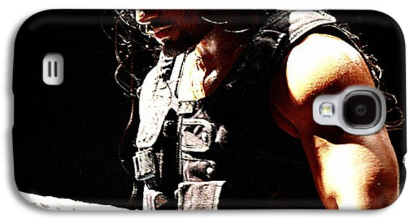 Champions Galaxy S4 Cases - Roman Reigns Galaxy S4 Case by Paul  Wilford