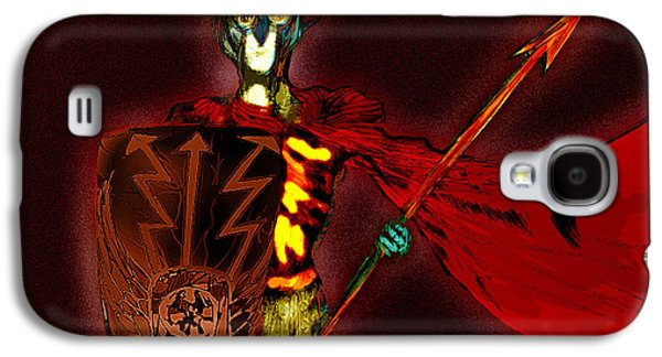 Ancient Pastels Galaxy S4 Cases - Roman Soldier  Galaxy S4 Case by Jazzboy