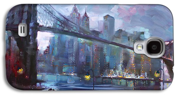 Romance By East River II Galaxy S4 Case by Ylli Haruni
