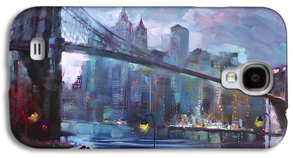 Romance By East River II Galaxy S4 Case by Ylli Haruni