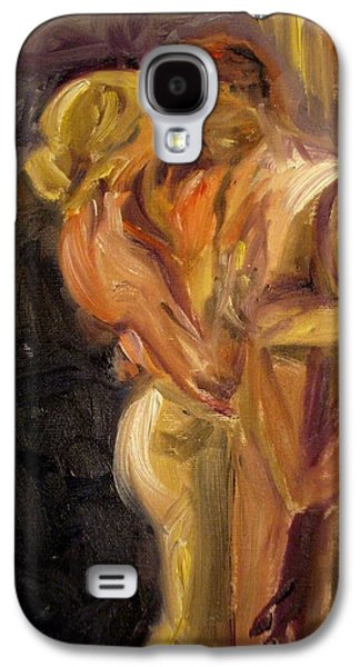 Embracing Galaxy S4 Cases - Romance Galaxy S4 Case by Donna Tuten