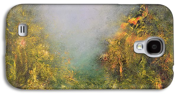 Mystical Landscape Paintings Galaxy S4 Cases - Romance Galaxy S4 Case by Hannibal Mane